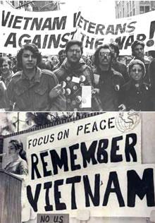 anti vietnam war movement in