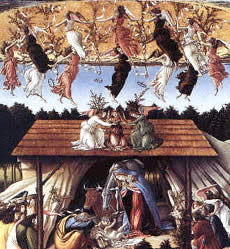 Sandro Botticelli's Mystical Nativity