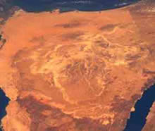 Sinai peninsular area of apparent nuclear war activity