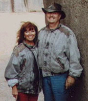 Brad Steiger and his wife Sherry