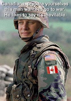 Stephen Harper Militarism