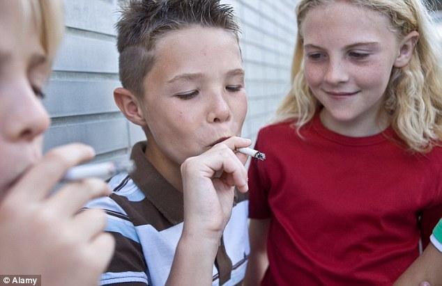 CAUSES OF SMOKING HABIT AMONG THE TEENAGERS