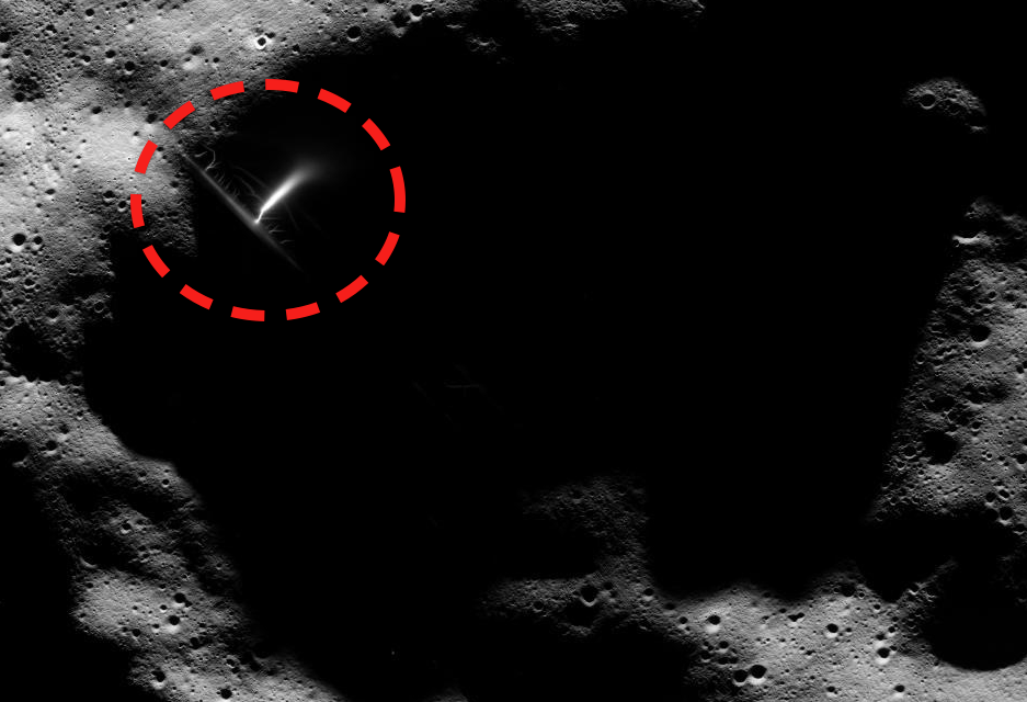 Alien Power Plant Found in the Moon  9916